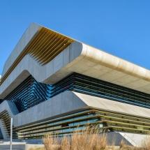 Pierresvives Montpellier par Zaha Hadid
